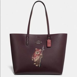 Star Wars X Coach Town Tote with Ewok